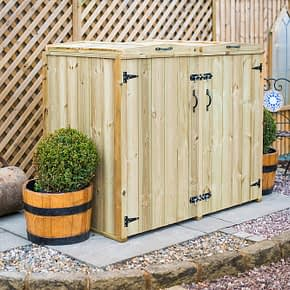 Mayfair Double Wheelie Bin Store