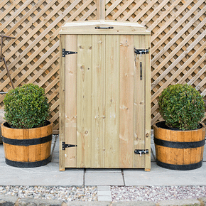 mayfair single wheelie bin store