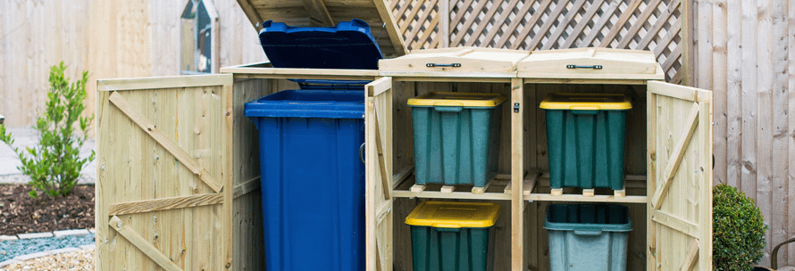 advantages of wheelie bin storage