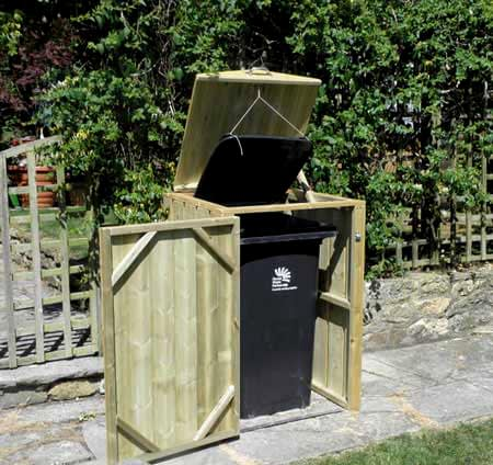 Dorset Single Wheelie Bin Store